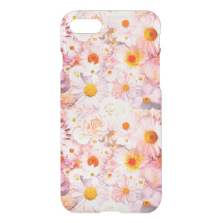 Pink Flowers Bouquet Floral Wedding Bridal Spring iPhone 8/7 Case