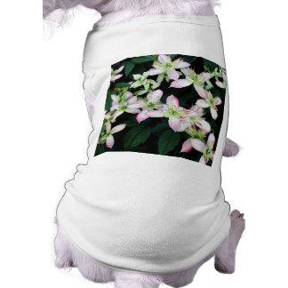 Pink flowers Clematis Pet Tee