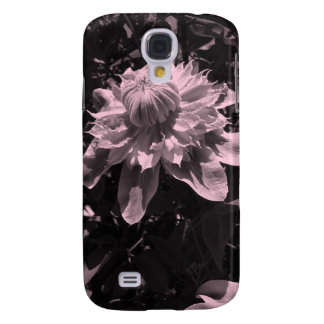 Pink flowers. Clematis. Stylish design. Galaxy S4 Case