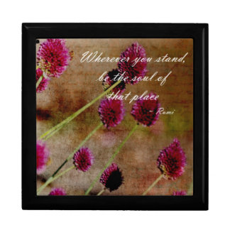 Pink Flowers Gift Box