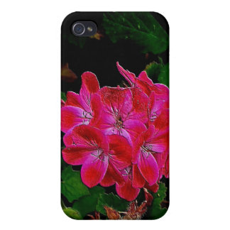 Pink Flowers I iPhone 4 Cover