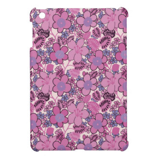 Pink Flowers iPad Mini Cover