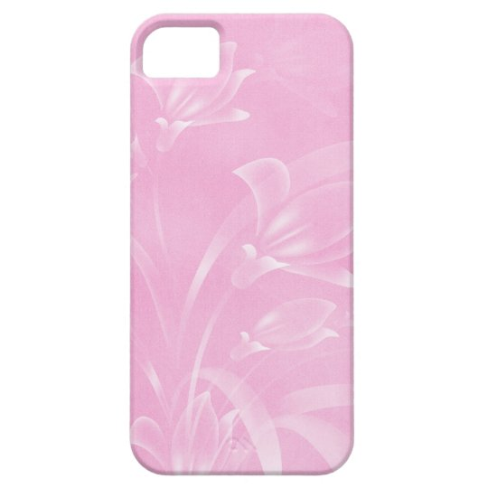 Pink Flowers iPhone 5 Case