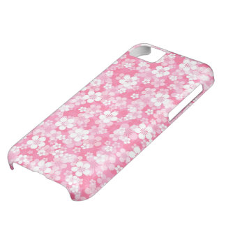 Pink Flowers iPhone 5C Case