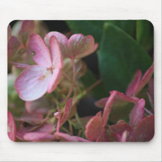 Pink Flowers Mouse Mat