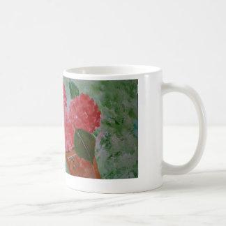 Pink Flowers Mug