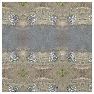 pink flowers on wall pattern, fabric