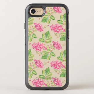 Pink Flowers OtterBox OtterBox Symmetry iPhone 8/7 Case