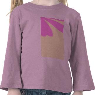 Pink flowers pattern shirt
