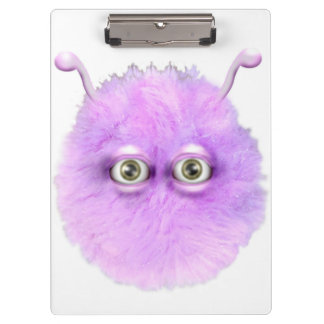 Pink, Fluffy, Pom, Pom, Stary, thing Clipboard