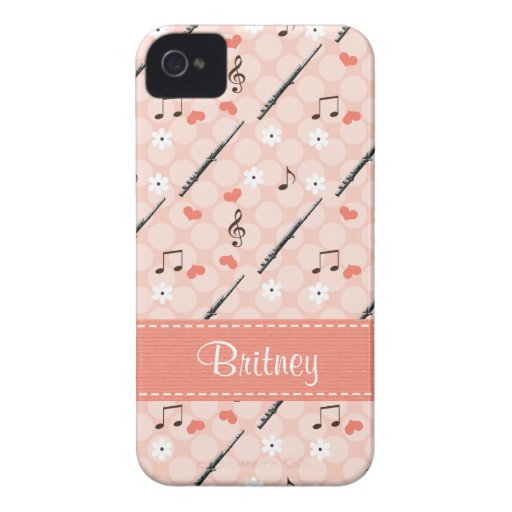 Pink Flute Blackberry Bold Case Cover