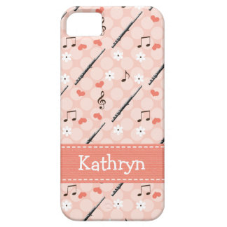 Pink Flute Case For The iPhone 5