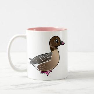 Pink-footed Goose Two-Tone Mug