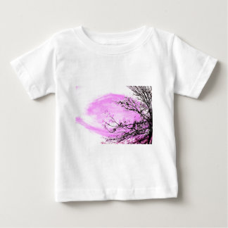 Pink Forest design by Jane Howarth Baby T-Shirt