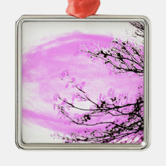 Pink Forest design by Jane Howarth Christmas Ornament