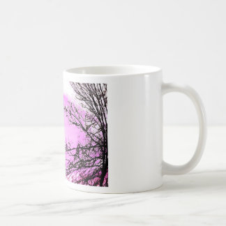 Pink Forest design by Jane Howarth Coffee Mug