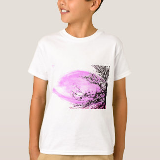 Pink Forest design by Jane Howarth T-Shirt