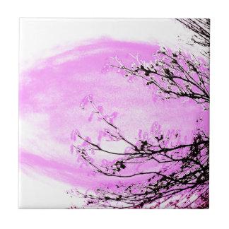 Pink Forest design by Jane Howarth Tile