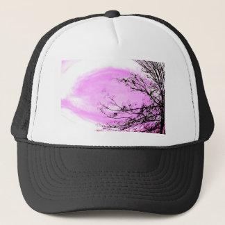 Pink Forest design by Jane Howarth Trucker Hat