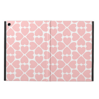Pink Four Leaf Clover Hearts iPad Air Cases
