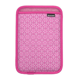 Pink Fractal Pattern iPad Mini Sleeve