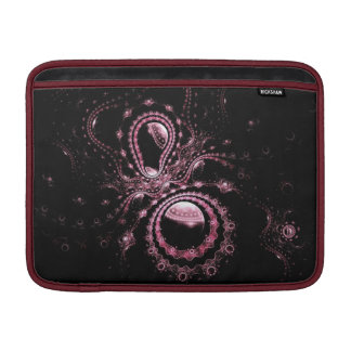 Pink Fractal Planets Sleeve For MacBook Air