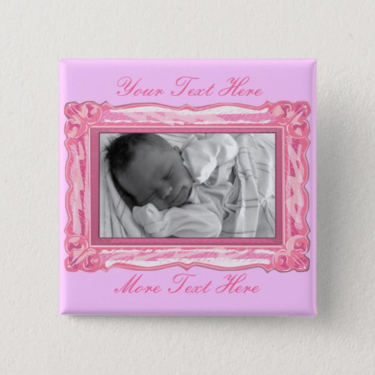Pink Frame Button
