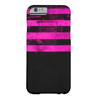 Pink Freedom of Speech Grunge Barely There iPhone 6 Case