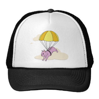 Pink French Bulldog Umbrella Fun Hat