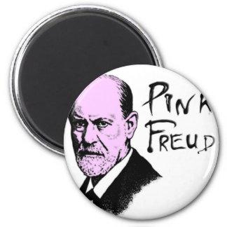 pink_freud 6 cm round magnet