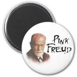 Pink Freud 6 Cm Round Magnet