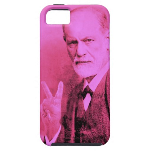 Pink Freud Cellphone Cover Case For iPhone 5/5S