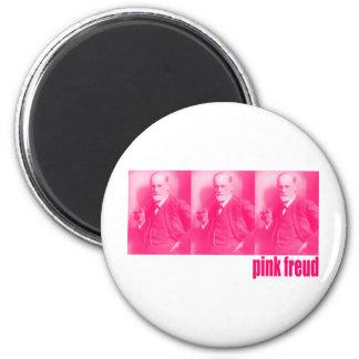 Pink Freud Magnet