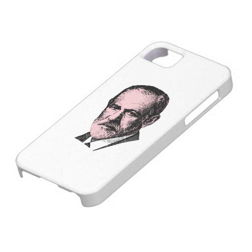 Pink Freud Sigmund Freud iPhone 5 Cases