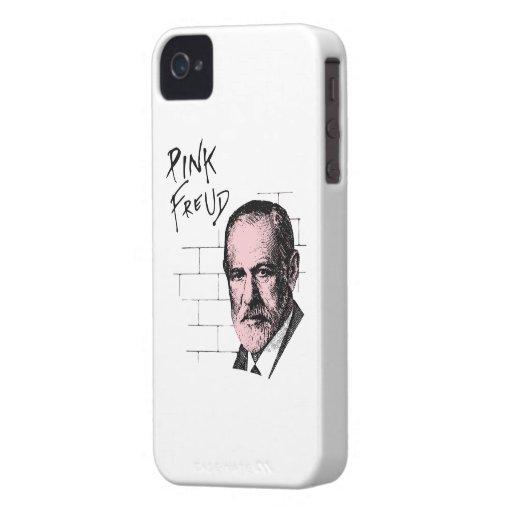 Pink Freud Sigmund Freud Case-Mate iPhone 4 Cases