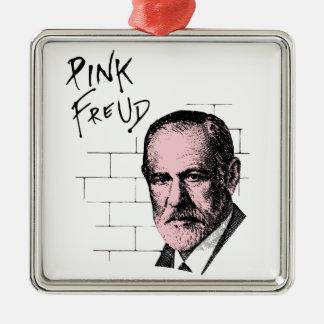 Pink Freud Sigmund Freud Christmas Ornament