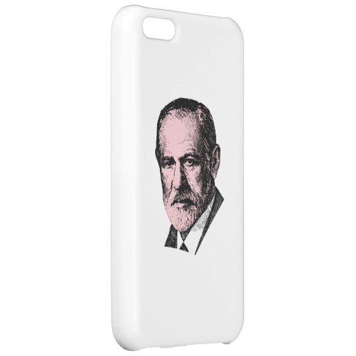 Pink Freud Sigmund Freud iPhone 5C Cases