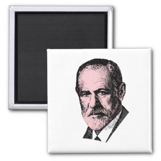 Pink Freud Sigmund Freud Magnet