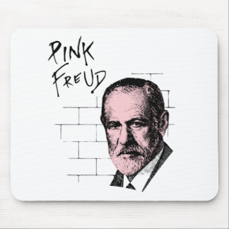 Pink Freud Sigmund Freud Mouse Mat