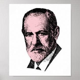 Pink Freud Sigmund Freud Poster