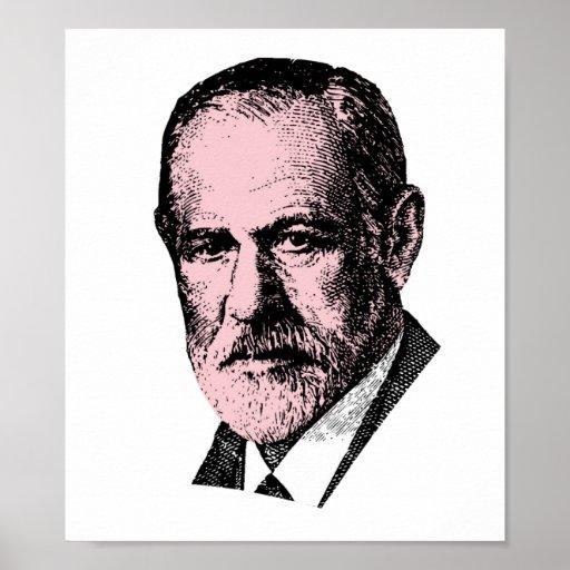 Pink Freud Sigmund Freud Posters