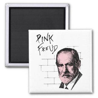 Pink Freud Sigmund Freud Square Magnet