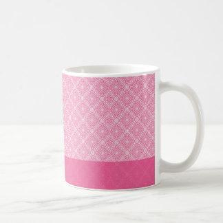 Pink Frills Basic White Mug