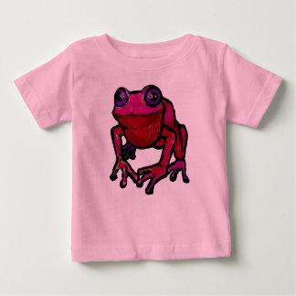 Pink frog baby T-Shirt