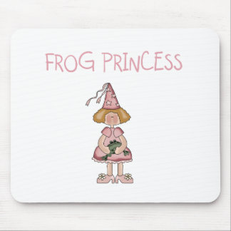 Pink Frog Princess Mouse Pad