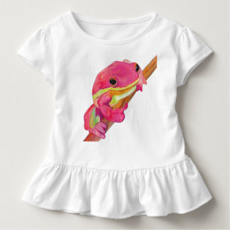 Pink Frog Toddler T-Shirt