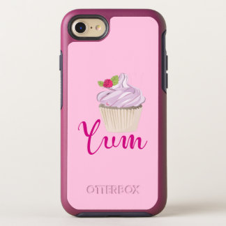 Pink Frosted Cupcake Yum! OtterBox Symmetry iPhone 8/7 Case
