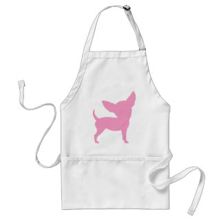 Pink Funny Chihuahua Standard Apron