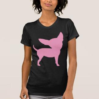Pink Funny Chihuahua T Shirts