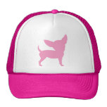 Pink Funny Chihuahua Trucker Hats